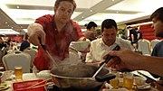 Hot pot en el restaurante Tack Hsin (1376136900) Tsim Sha Tsui, Yau Tsim Mong, Hong Kong.jpg