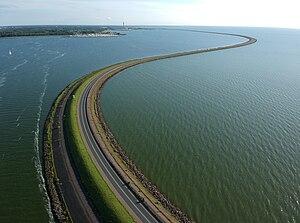 Houtribdijk - Markerwaarddijk
