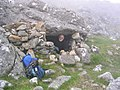 Howff in col between A' Mhaighdean and Ruadh Stac Mòr - geograph.org.uk - 1289824.jpg