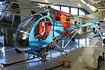Hughes Model 269A Osage, 1956, second prototype - Evergreen Aviation & Space Museum - McMinnville, Oregon - DSC00943.jpg