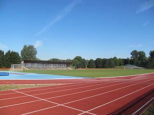 SK Spartak Hulín - Stadium of SK Spartak Hulín.