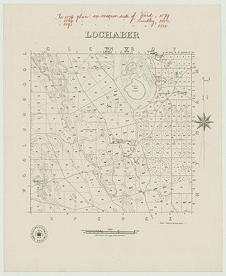 Lochaber, South Australia - Hundred of Lochaber, 1894