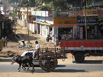 Hunsur - Hunsur town near Mysore
