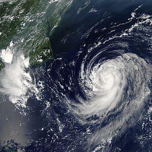 Hurricane Irene 14 aug 2005