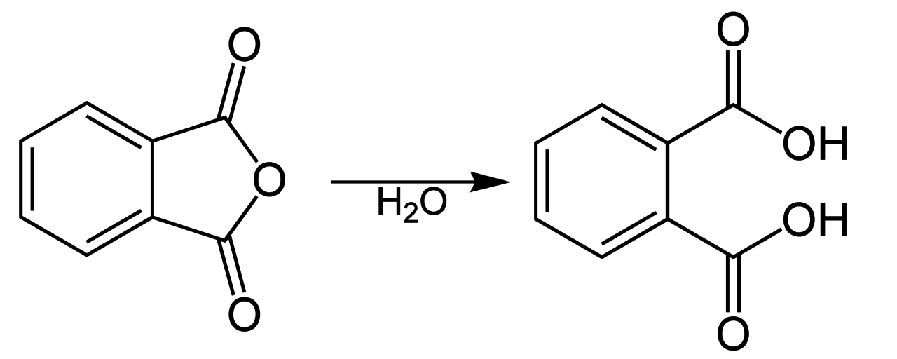 Filehydrolysis Of Phthalic Anhydrideg Wikimedia Commons