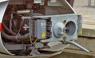 Scharfenberg coupler Automatic railway coupling