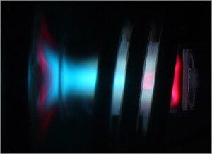 """Inductively coupled plasma atomic emission spectroscopy - ICP Plasma """"torch""""."""