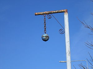 Blue Ball, County Offaly - The sign of the Blue Ball