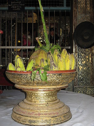 Burmese folk religion - An offering one might see at a nat pwe.
