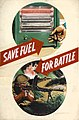 INF3-181 Fuel Economy Save fuel for battle (electric fire, Bren gunner) Artist Clive Uptton.jpg