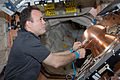 ISS-28 Ron Garan prepares the Reentry Breakup Recorder.jpg