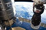 ISS-59 Cygnus NG-11 and Soyuz MS-12 above Brazil.jpg