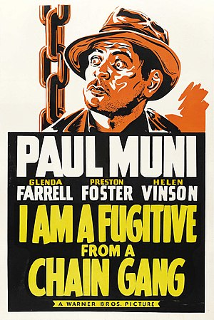 I Am a Fugitive from a Chain Gang (1932 poster).jpg
