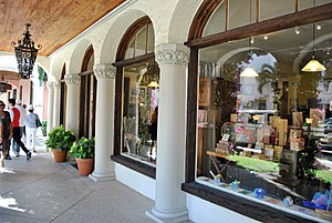 Alice DeLamar - Worth Avenue Gallery, located at 347 Worth Avenue, Palm Beach, Florida, was the site of an art gallery owned by DeLamar.