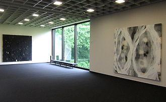 Ian McKeever (artist) - McKeever, Hartgrove Paintings at the Josef Albers Museum, Bottrop, 2012