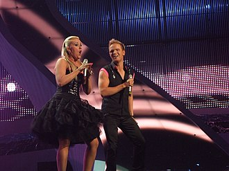 Iceland in the Eurovision Song Contest - Image: Iceland, Eurobandið, semi final of Eurovision 2008