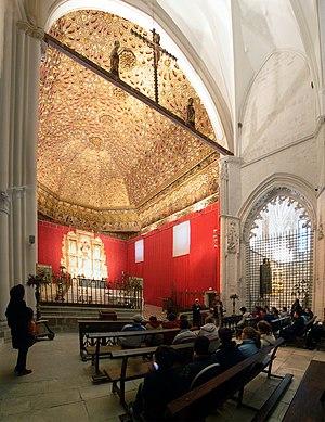 Royal Convent of Santa Clara - Interior of the church of the convent of Santa Clara