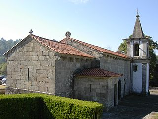 Church of São Pedro de Rubiães Church in Norte, Portugal