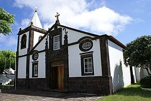 Calheta, Azores - The rebuilt Church of Nossa Senhora do Rosário following the Mandada do Deus earthquake