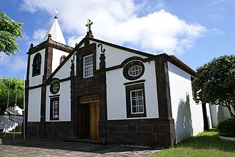 Calheta, Azores - The rebuilt Church of Nossa Senhora do Rosário following the Mandada do Deus earthquake