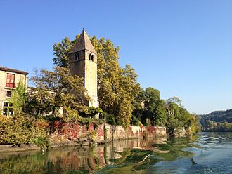 Île Barbe - Image: Ile barbe à Lyon