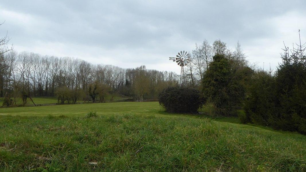 Le Vert Parc Golf Club Illies Nord Nord-Pas-de-Calais-Picardie France.