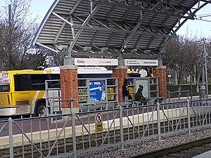 Illinois station (DART) - Image: Illinois (DART station)