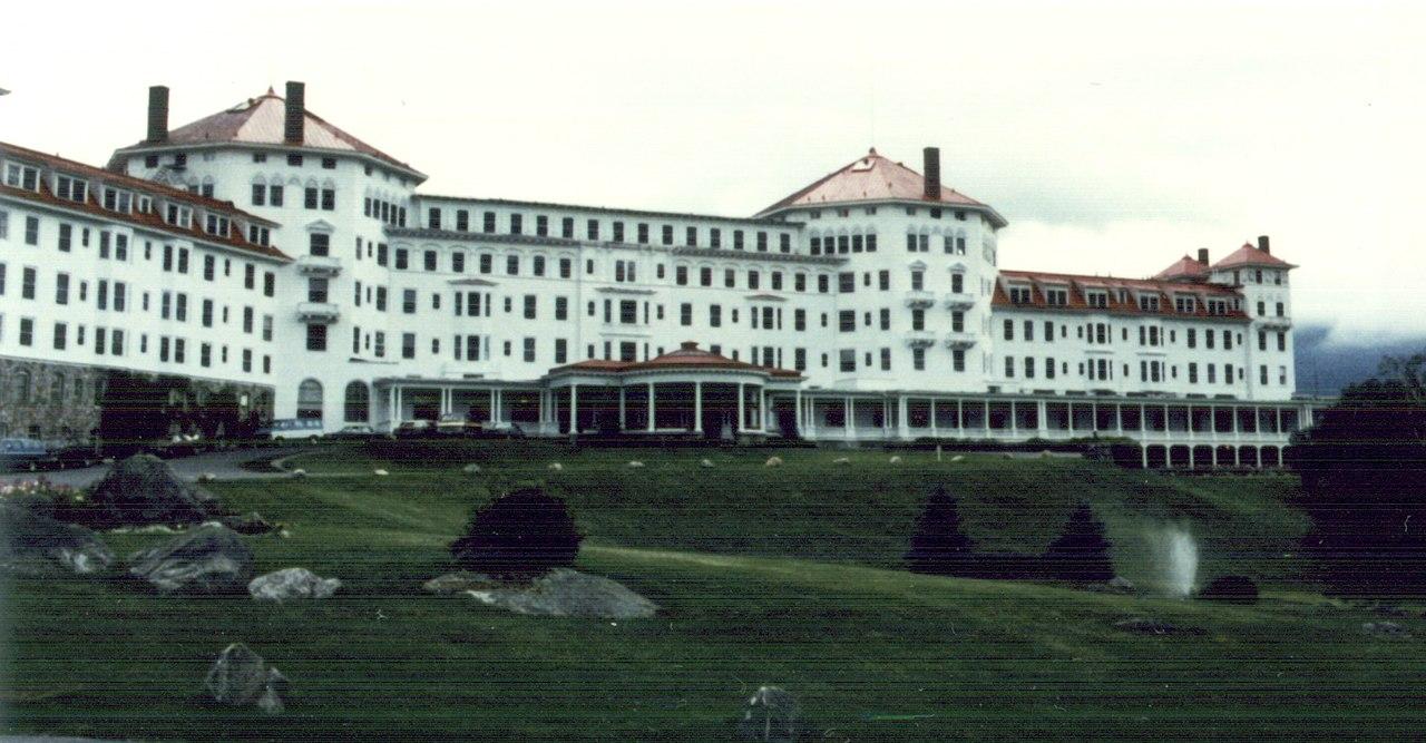 Hotel Mount Washington en Bretton Woods, donde se firmaron los acuerdos.