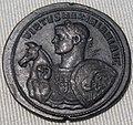 Impero, massimino, medaglione in bronzo (roma), 283-305.JPG