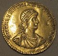 Impero, valentiniano II, multiplo in oro (aquileia), 378-383.JPG
