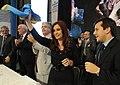 Inauguración del nuevo hangar de Aerolíneas Argentinas en Aeroparque 01.jpg