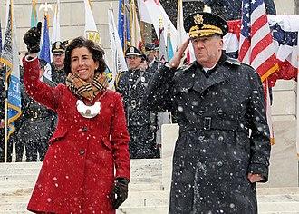 Gina Raimondo - Raimondo at her inauguration