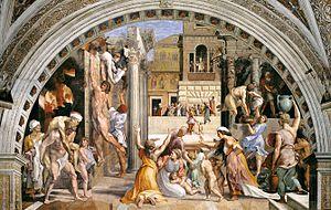 Incendio di borgo wikipedia for Francesca la troia