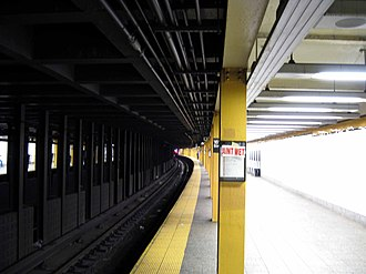 161st Street–Yankee Stadium (New York City Subway) - Northbound platform