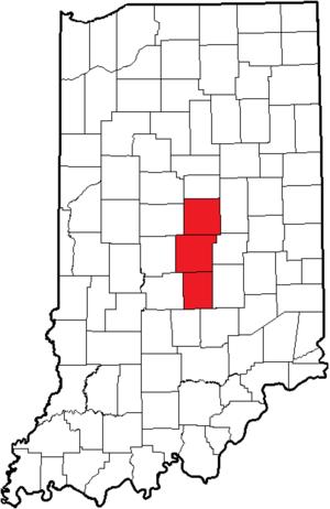 Metropolitan Interscholastic Conference - Image: Indiana (MIC2)