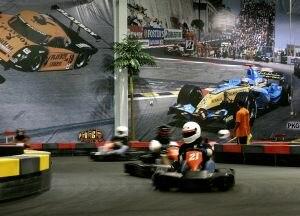 Kart circuit - Indoor track in Florida