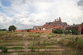 English: Industrial dereliction Brownfield lan...
