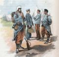 Infanterie de l'Armée espagnole sur La Guerre en Afrique (1859-1860) jusqu'à 1890.png