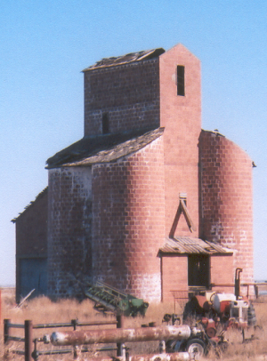National Register of Historic Places listings in Alfalfa County, Oklahoma - Image: Ingersoll Tile Grain Elevator