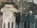 Inscription on base of Resting Christ statue in Markvartice.jpg