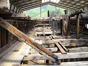 Edwin Fox - Lower deck of Edwin Fox. The upper deck no longer exists.