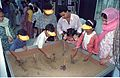 Interactive Area - Dinosaurs Alive Exhibition - Science City - Calcutta 1995-June-July 485.JPG