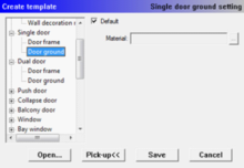 InteriCADT6 single door ground setting.png