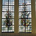Interieur, trappenhuis, glas in loodraam - Egmond aan Zee - 20361293 - RCE.jpg