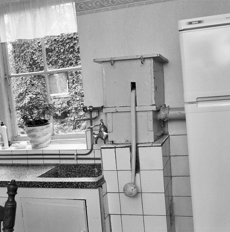 Boerderij van het langgeveltype blijkens jaaranker 1809 in veghel monument - Oude foto keuken ...