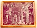 Interior of St Peters by Pannini, Nat'l Gallery of Art, Washington DC, August 1975.jpg