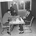 Internationaal Schaaktoernooi in Zevenaar. Langeweg en B. Milic, Bestanddeelnr 913-1230.jpg
