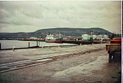 Inverness harbour in 1999