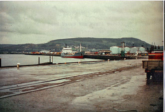 A view of Inverness harbour in 1999 Inverness harbour in 1999.JPG