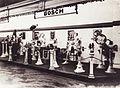 Iparcsarnok, az első önálló magyar automobilkiállítás. A Bosch cég standja. Fortepan 84246.jpg